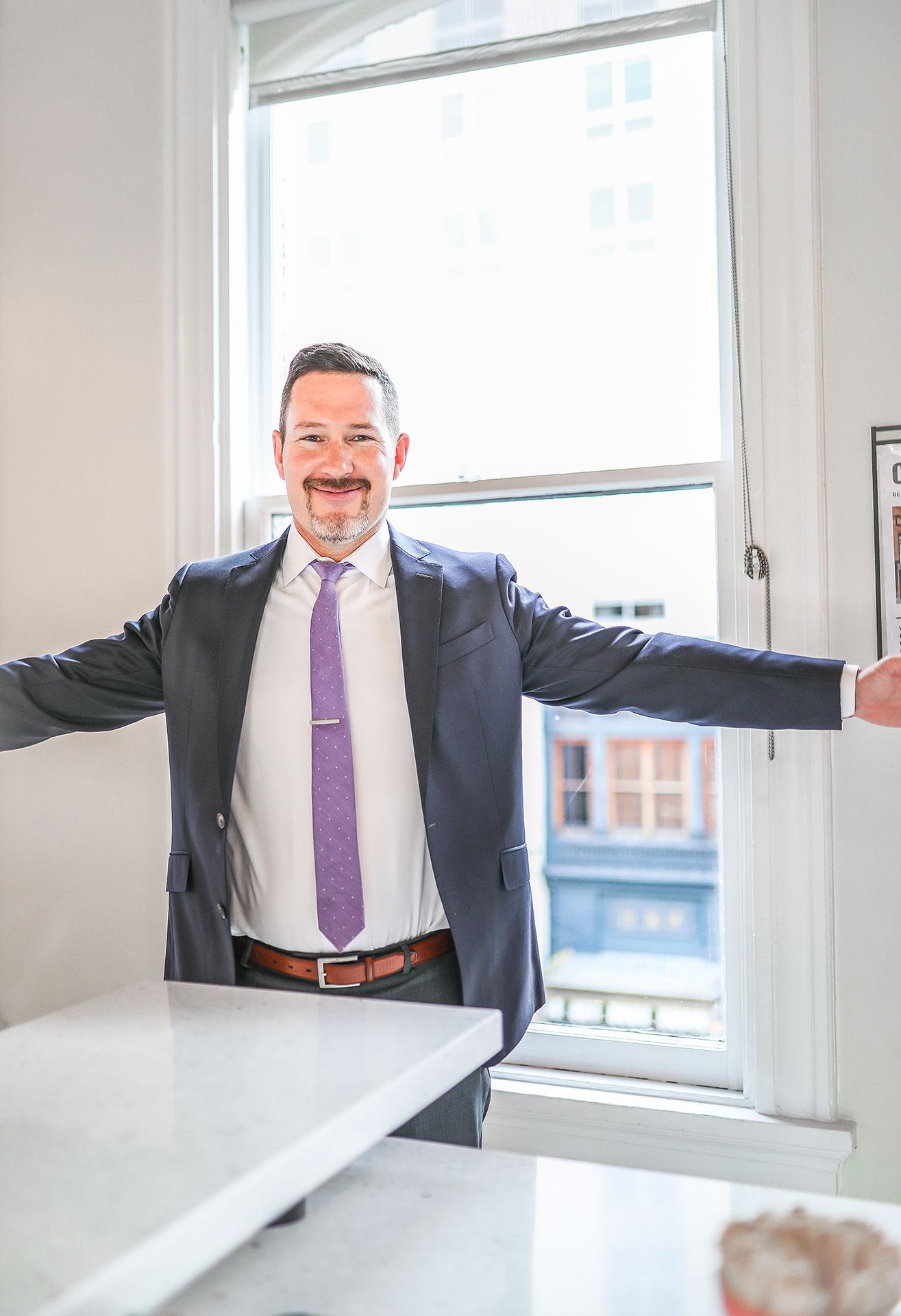 Derek Ketelsen at the Office