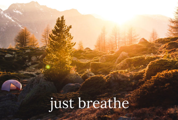 Featured Image for 'Just Breathe' Blog Post